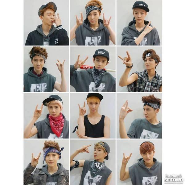 Exo Facebook Update My World Hope Is Dream
